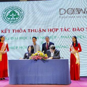 Ký kết hợp tác đào tạo và nghiên cứu với DOWA