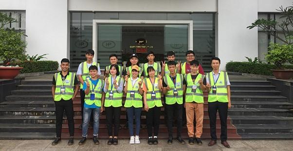 Sinh viên thực tập học kỳ doanh nghiệp tại Happy Co.